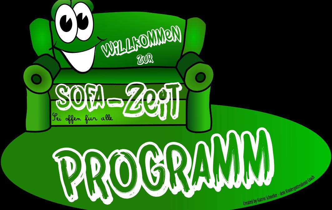 Programm-Entwürfe für die Sofa-Zeit